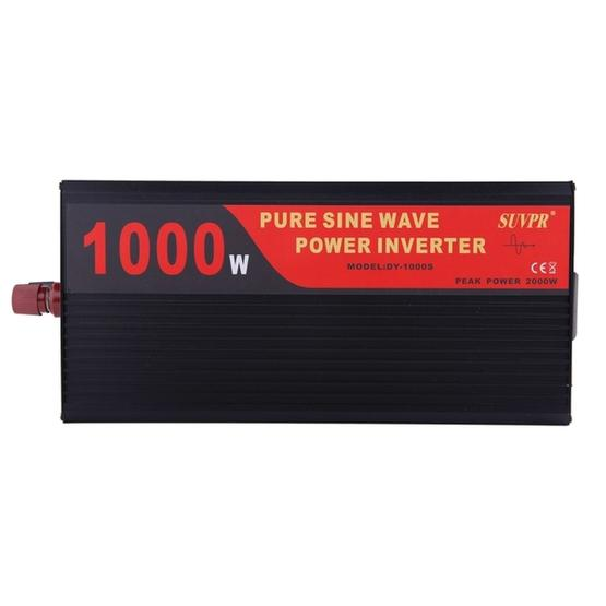 SUVPR DY-LG1000S 1000W DC 12V to AC 220V 50Hz Pure Sine Wave Car Power Inverter with Universal Power Socket - 2