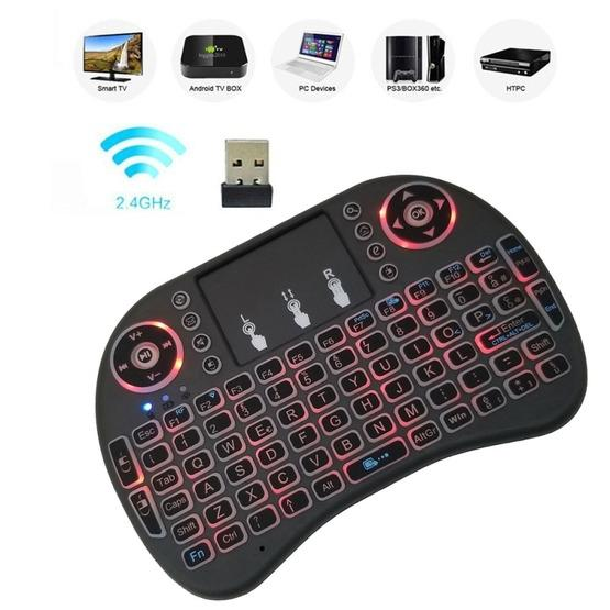 Italy i8 Air Mouse Wireless Backlight Keyboard with Touchpad for Android TV Box /& Smart TV /& PC Tablet /& Xbox360 /& PS3 /& HTPC//IPTV GuiPing Support Language