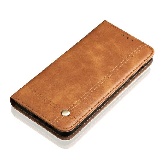 Casual Style Retro Crazy Horse Texture Horizontal Flip Leather Case for Xiaomi Mi 9, with Card Slots & Holder & Wallet (Brown) - 5