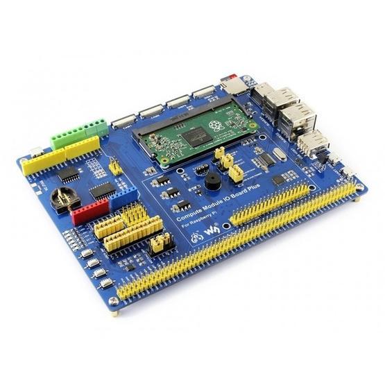 Waveshare Compute Module IO Board Plus for Raspberry Pi CM3 / CM3L / CM3+ /  CM3+L