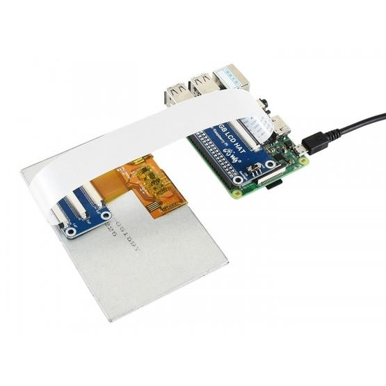 Waveshare 5 0 inch 800x480 IPS Display for Raspberry Pi, DPI interface, No  Touch