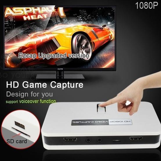 EZCAP284 HDMI Game Capture 1080P HD Video Capture with Remote Control